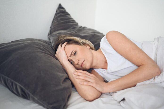 Foto de La dificultad de conciliar el sueño por culpa de la pandemia.