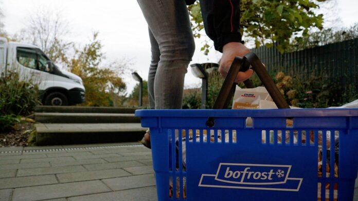 Foto de entrega bofrost
