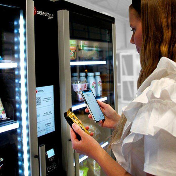 Foto de Pagos Digitales en Máquinas de Vending de Selecta